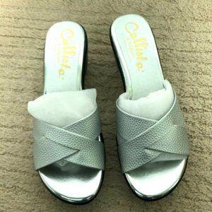 Callisto of California Dimple Sandals